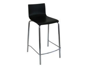 Contour stool BLACK