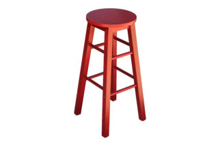 Mission Stool Red