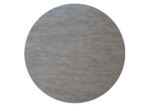 round Light marble top