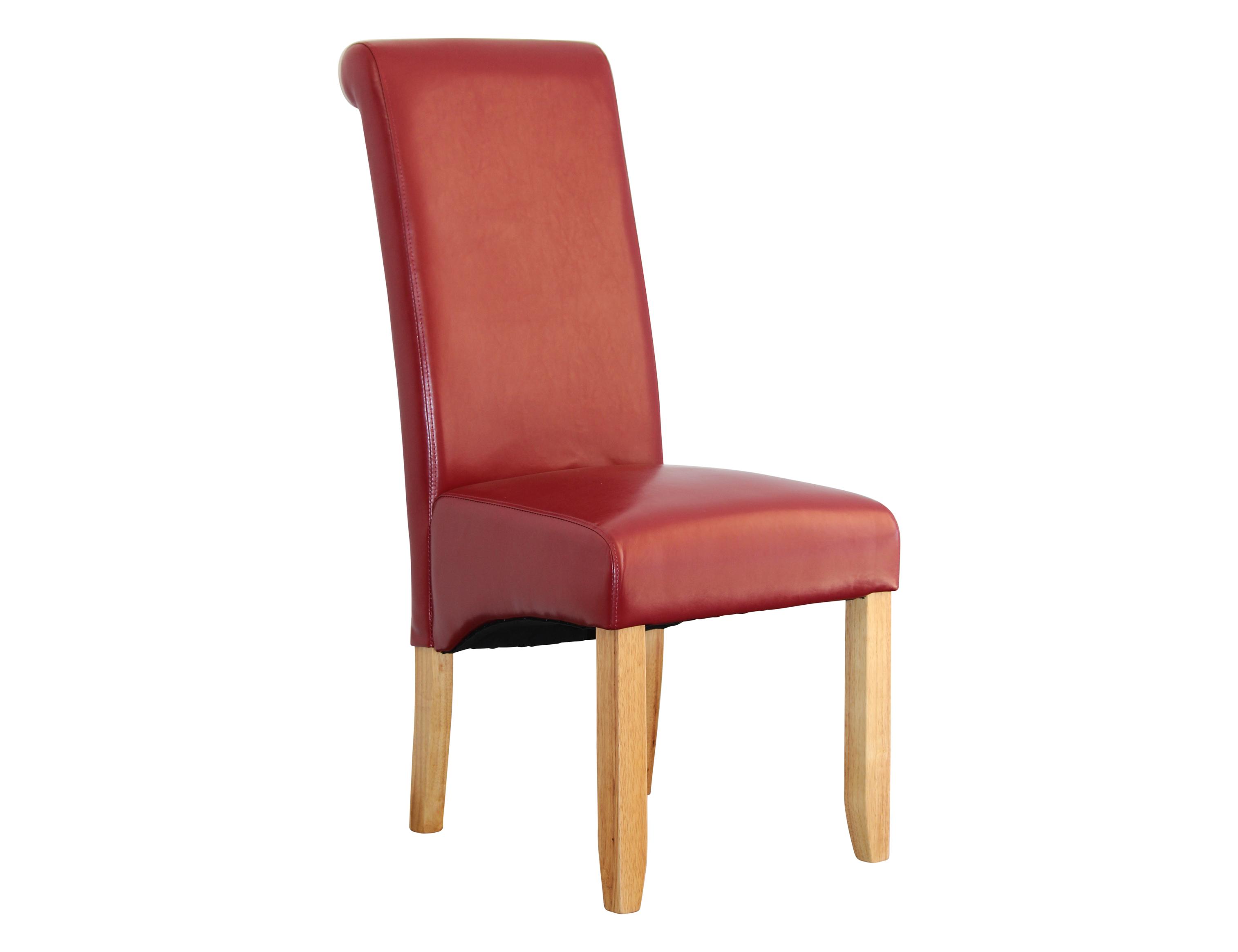 Avalon Dining Chair Blonde Red Berton Furniture