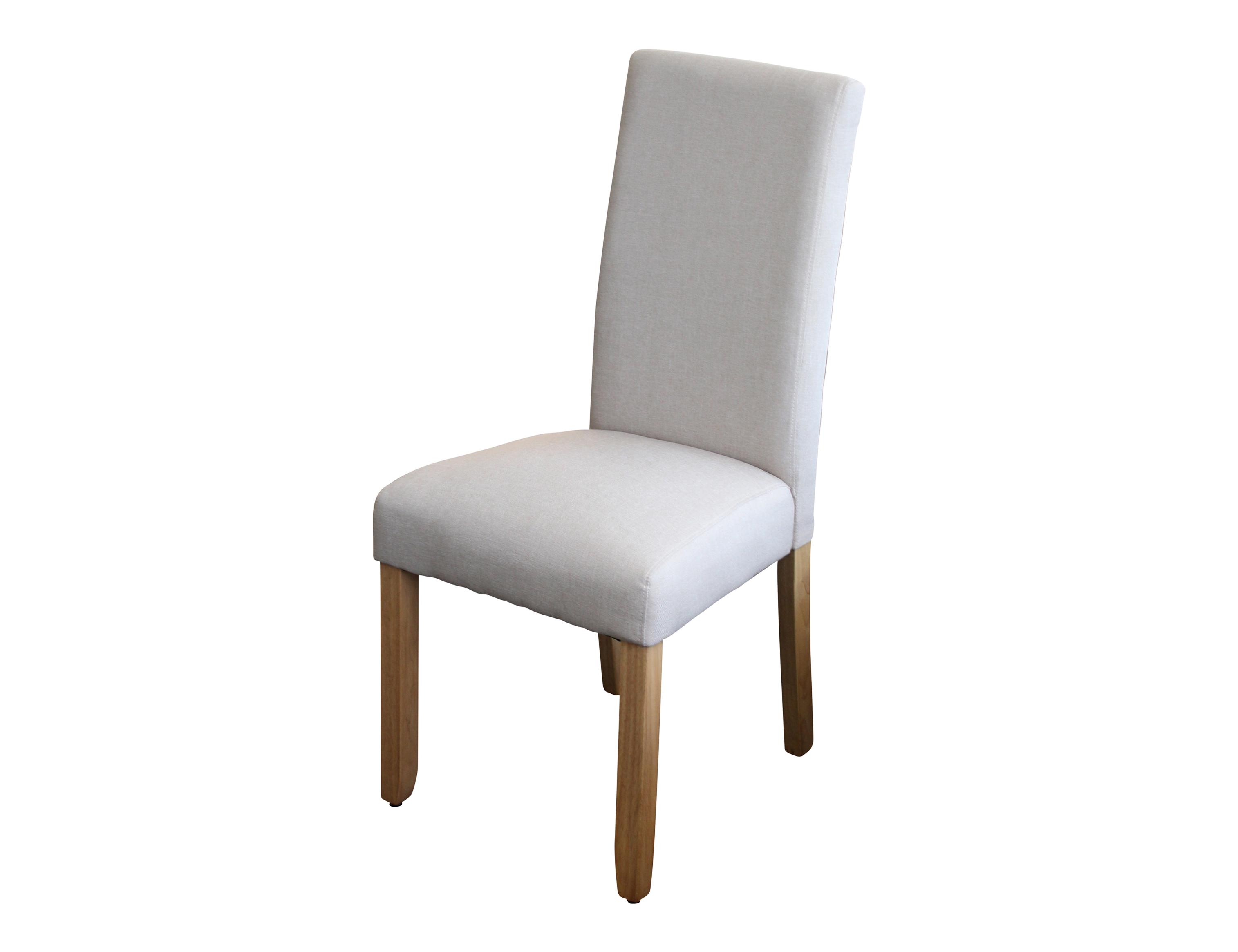 Ashton Dining Chair Upholstered In Beige Fabric Berton