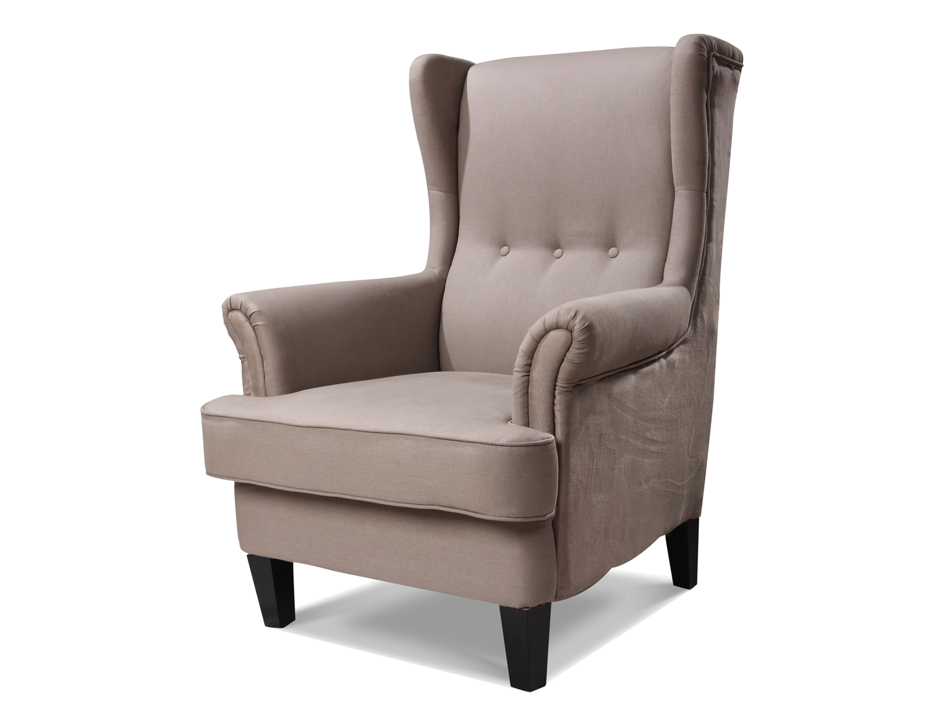 Austin wingback chair upholstered in 'Key West' Linen ...