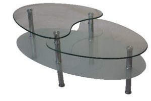Benji coffee table sandblast