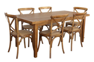 Orleans 7 pc dining Natural