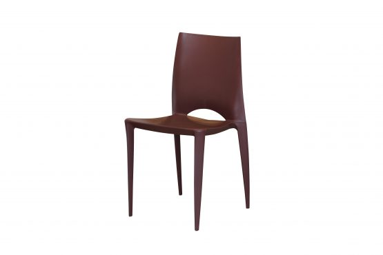 Venice Chair Brown 2019 angled view (1)