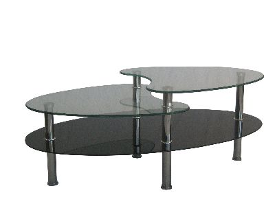 benji new glass and chrome coffee tables etc 015