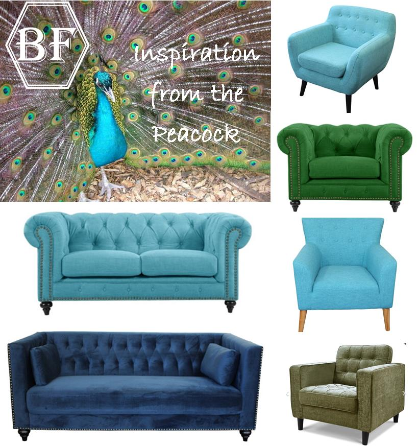 Inspiration Furniture Catalog: Inspiration From The Peacock