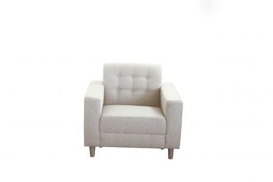 Princeton 1 Seater (9) Cream Color