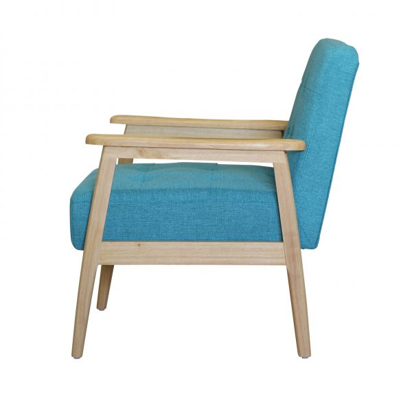 Monterey Stool Teal 23 side view (2)