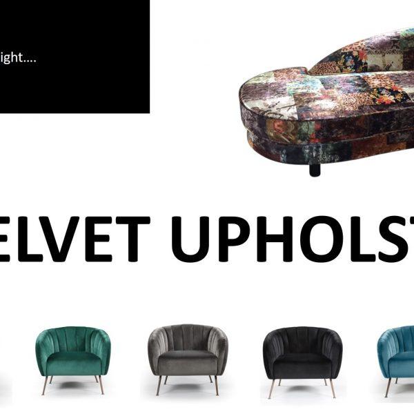 Design Spotlight Velvet upholstery